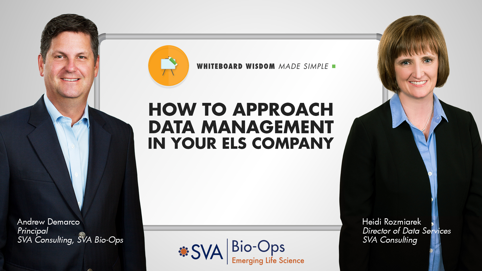 Whiteboard Wisdom Made Simple: How to Approach Data Management in Your ELS Company